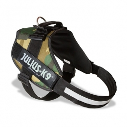 Harnais IDC-POWER Julius-K9 Camouflage Armée