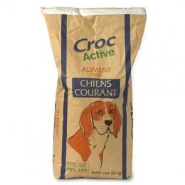 Croquettes pour chien adulte CHIENS COURANT CROC ACTIVE 30-14 20kg