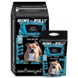 Menu BULLY Salmon - by MAX FAMILY - Croquette sans céréale au saumon 12 kg